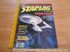 Star Trek ALIEN The Thing Ray Bradbury STARLOG 25 magazine 1970s
