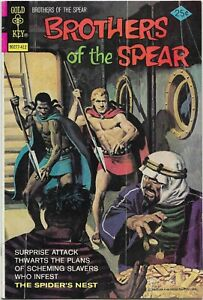 Brothers of the Spear #11 - VG/Fine - Gold Key - The Spider's Nest