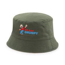 50th Birthday Gift 1968 Present Idea For Men Dad Male Him 50 Grumpy Bucket Hat
