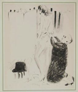 MARCEL VERTÉS -THE VOICE OF EXPERIENCE -LITHOGRAPH FROM THE STRONGER SEX- 1941