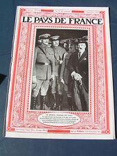 Pays de France 1919 255 VOSGES voies ferrées OPIUM LORRAINE BOVIN VACHE