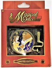 Disney Magical Melodies Quarterly Beauty & Beast Belle Spinner 3-D Pin LE 1500
