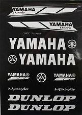 YAMAHA Decal Sticker ATV Motorcycle Dirt Bike CRF TTR YZF ATC BLACK P DE23