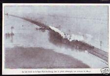 1930  --  MEAUX  LIGNE PARIS STRASBOURG SUBMERGEE  D392