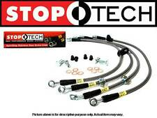 STOPTECH STAINLESS STEEL REAR BRAKE LINES for 04-07 SUBARU IMPREZA WRX STi TURBO