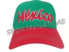 newest collection 3382f 5ffe2 MEXICO HAT CAP ADJUSTABLE FAN FLAG mexican pride product ship from USA