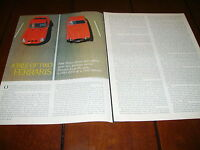 1963 FERRARI GTO - 1952 FERRARI MEXICO ***ORIGINAL 1974 ARTICLE***