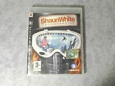 SHAUN WHITE SNOWBOARDING SONY PS3 PLAYSTATION PAL ITALIANO COMPLETO COME NUOVO
