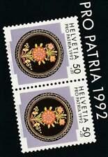 Zwitserland used 1992 boekje / booklet 92 - Pro Patria / Volkskunst
