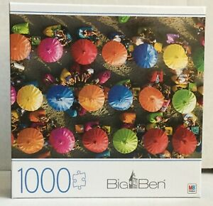 Big Ben Jigsaw Puzzle Colorful Umbrellas in Bali Jigsaw NEW