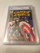 CAPTAIN AMERICA #117 CBCS 7.0!! ORIGIN & 1ST APP OF THE FALCON MEGA KEY NOT CGC