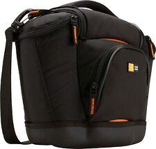 Case Logic SLRC-202 Medium SLR Camera Bag Black W Waterproof Base NEW W TAG