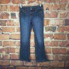 Ann Taylor Womens Curvy Fit Boot Cut Jeans Size 2 Petite