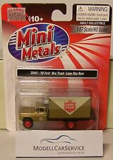 "Mini Metals 1/87: 30441 ´60 Ford Kühlkoffer-Lkw ""Lone Star Beer"" Texas"