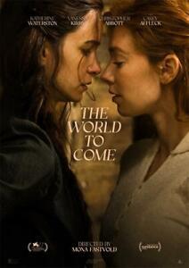 "The World to Come Movie Poster 40x27 36x24 30x20 18x12"" Art Decor Print"