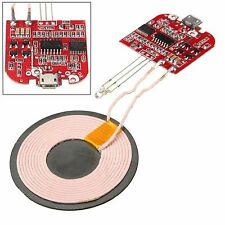 Qi Wireless Charger PCBA Circuit Board With Coil Charging Pad for DIY Arduino BT