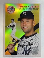 2021 Topps Series 1 DEREK JETER Gold Chrome Insert SP #70YTC-4 New York Yankees