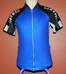 ASSOS of Switzerland Bike Cycling Jersey Men's Cycling Sport Size Large Blue