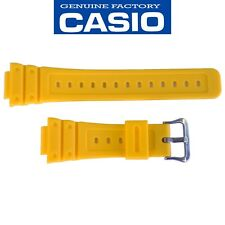 CASIO G-SHOCK Watch Band Strap DW-5600P-9 Original Yellow Rubber