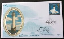 CHAY BLYTH, Yachtsman/Rower, Signed 24.3.1998 Lighthouses FDC Bell Rock Arbroath