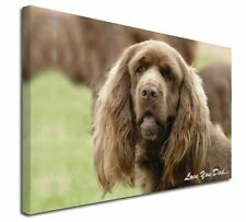 More details for sussex spaniel 'love you dad' x-large 30