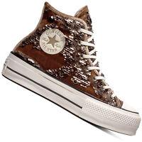 Converse Chuck Taylor All Star Lift Hi-Top Damen Sneaker Schnürschuhe Schuhe NEU