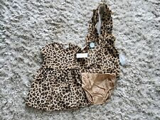 Carters baby girl 12 months 3 Peace Sets. New.  Animal  print.