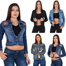 Schwarze jeansjacke damen gunstig