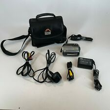 JVC EVERIO GZ-MG130EK 30GB HDD Camcorder Tested Working + Bag, Charger, Strap