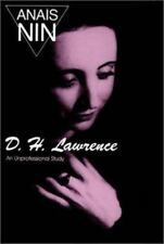 D.H. Lawrence: An Unprofessional Study, , Nin, Anaïs, Good, 1964-01-01,