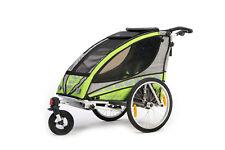 Kinderfahrradanhänger  Sportrex1 Fahrradanhänger Qeridoo B-Ware / Gebraucht 2016