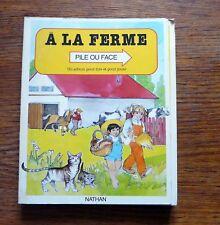 A LA FERME Livre en relief Livre accordéon Pop up