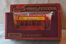 New Original MATCHBOX Yesteryear 1922 AECOMNIBUS Y-23 Red Scale 1:72 England