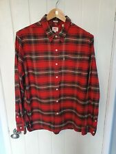 Mens Levi's Thermadapt Red Check Shirt Size XL