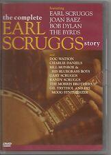 EARL SCRUGGS - Story BOB DYLAN JOAN BAEZ BYRDS DVD 2005 USATO OTTIME CONDIZIONI