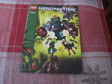 Lego Hero Factory 44007 instruction book/manual only