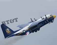 Photograph C-130 Blue Angels Aircraft Fat Albert Takeoff Assist   8x10