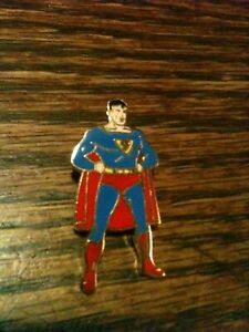 1940 Superman Enamel Pin Pristine Gem Mint Action DC Comics RARE Clark Kent L@@K