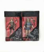 Star Wars The Black Series Rogue One Jyn Erso  Captain Cassian Action Figure NIB