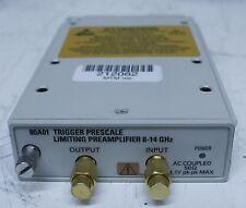 Tektronix 80A01 Pre-scaled Trigger Amplifier 8 - 12.5GHz Plug In Module