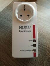 1 Stück FRITZ! Powerline 1220E Adapter (20002736). LAN per Stromnetz.