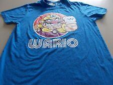 SUPER MARIO / WARIO T-SHIRT- NINTENDO - SMALL - SEE DESC FOR SIZING