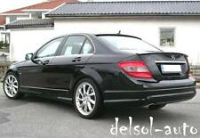 2008-14 Mercedes-Benz W204 Trunk + Roof Spoiler W 204 C350 C-350 C63 4-dr AMG OE
