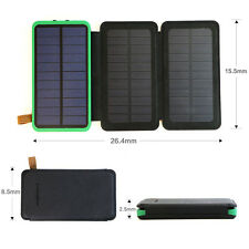 300000mAh External Battery Charger Solar Panel Power Bank For iPhone 6 6s 7 Plus