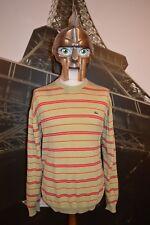 Lacoste Men's Multi Striped Jumper / Sweater Size 7 (XXL) Devanlay