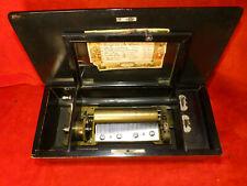 EXQUISITE - BEAUTIFUL MECHANICALLY PERFECT CA. 1880'S DESKTOP MUSIC BOX