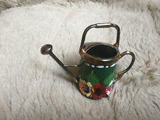 Rossvar Hand Painted Copper Watering Can