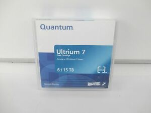 Quantum MR-L7MQN-BC Quantum - LTO Ultrium 7 x 1 - 6 TB - Data Cartridge - NEW