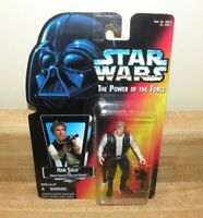 Star Wars Han Solo Orange Kenner Power Of The Force 2 POTF2 MOC action figure