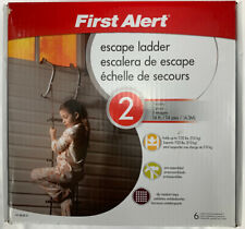 First Alert El52: 2 Two-Story 14-Foot Escape Ladder, Open-Box Unused, 1125lbs